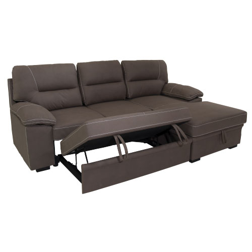 CJF001 Corner Sleeper Couch