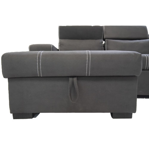 CJF002 Corner Sleeper Couch