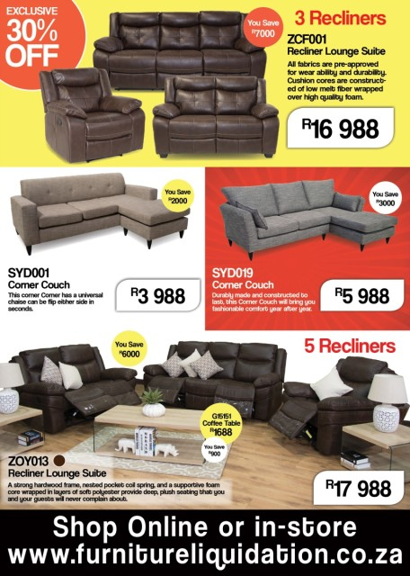 Furniture Catalogue | Furniture Liquidation Warehouse